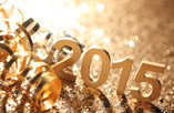 2015 in gold lettering