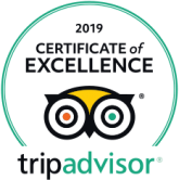 Tripadvisor 2019 Certificate of Excellence badge